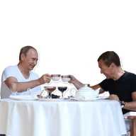 Набор стикеров «Russian Elite»