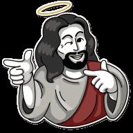 Набор стикеров «jesus»