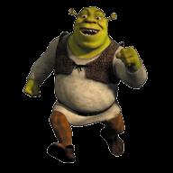 Набор стикеров «Shrek»