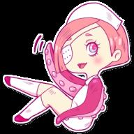 Набор стикеров «Nurse Octopia»