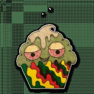 Набор стикеров «Ragga muffins»