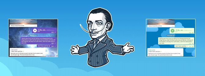 Темы для Телеграмм – нововведение для десктопных версий