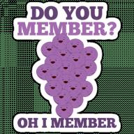 Набор стикеров «Member Berries»