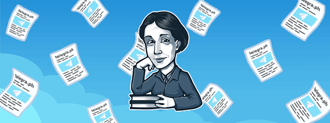 Telegraph - сервис публикации текстов в Телеграмме