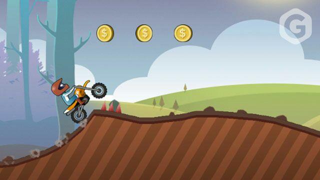 Игра в Telegram «Moto FX (Мототриал)»