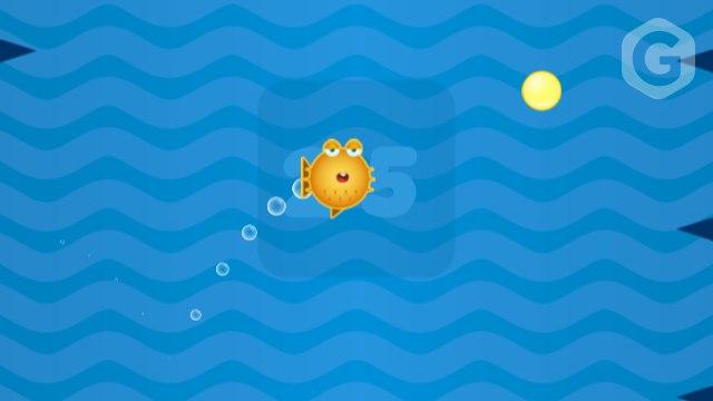 Игра в Telegram «Spiky Fish 2 (Колючая рыбка 2)»