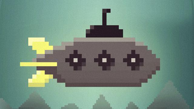 Игра в Telegram «Jumping Submarine (Прыгающая сумарина)»