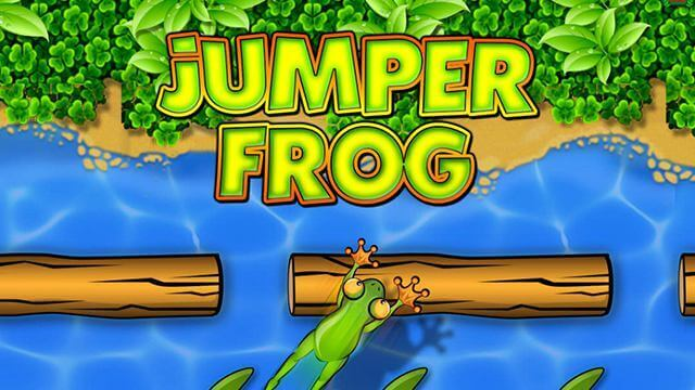 Игра в Telegram «Jumper Frog (Лягушка)»