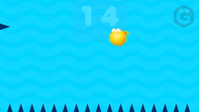 Игра в Telegram «Spiky Fish (Колючая рыбка)»