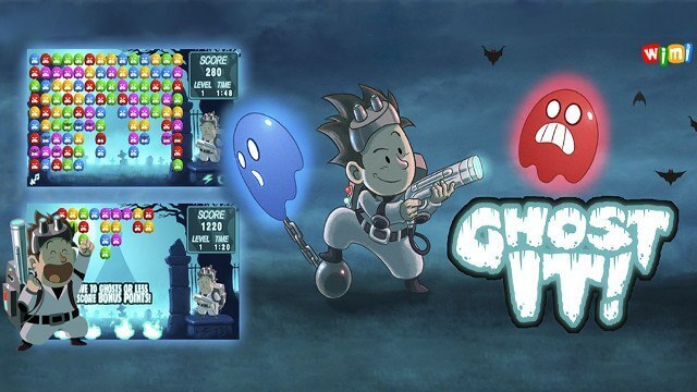 Игра в Telegram «Ghost It! (Охотник за приведениями)»