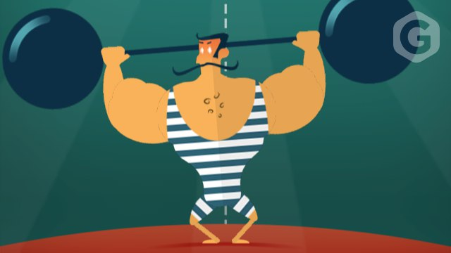 Игра в Telegram «Mr. Muscle (Тяжелоатлет)»