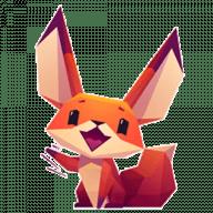 Набор стикеров «Little Cute Fox»