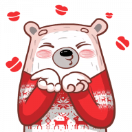 Набор стикеров «Pampu Love»