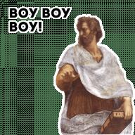 Набор стикеров «Философия»