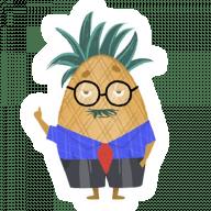 Набор стикеров «Mr. Pinny»