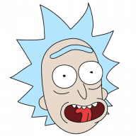 Набор стикеров «R&M (Rick)»