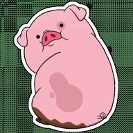 Набор стикеров «Пухля»